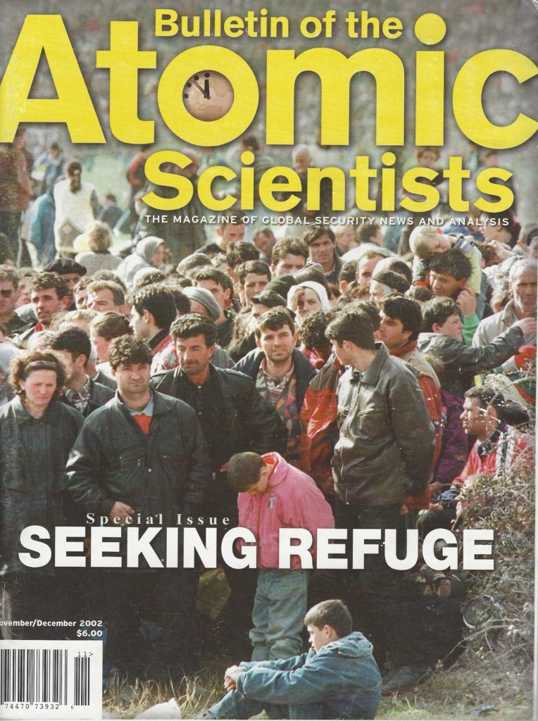 Bulletin of the Atomic Scientists, Special Issues on Refugees, 2002