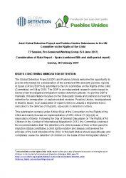 Spain Immigration Detention Profile   Global Detention