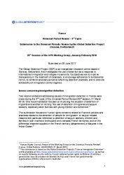 France Immigration Detention Profile | Global Detention