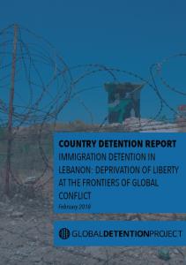 Immigration Detention in Lebanon