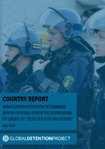 Immigration detention in Denmark
