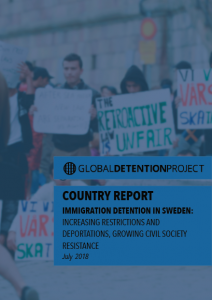 Immigration Detention Sweden 2018