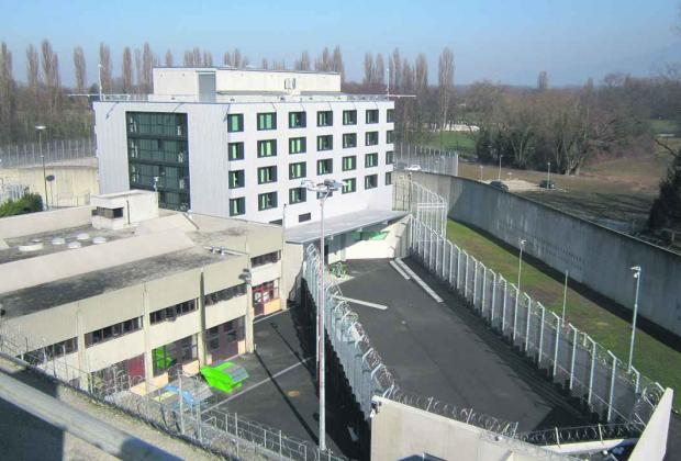 Image result for champ-dollon prison switzerland