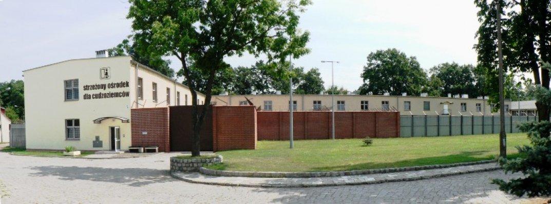 Krosno guarded centre (Border Guard, Strzeżony Ośrodek dla Cudzoziemców,http://www.nadodrzanski.strazgraniczna.pl/nad/cudzoziemcy/strzezony-osrodek-dla-c/7461,Strzezony-Osrodek-dla-Cudzoziemcow.html)