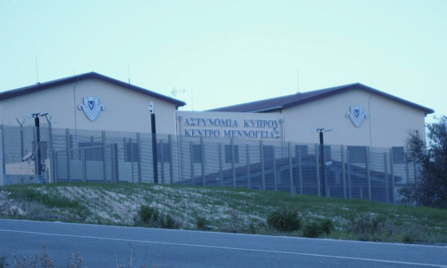 Menoyia Detention Center, Cyprus (Source: Knews, http://bit.ly/2Ns0xg0) (Menoyia (Menogeia) Immigration Detention Centre)