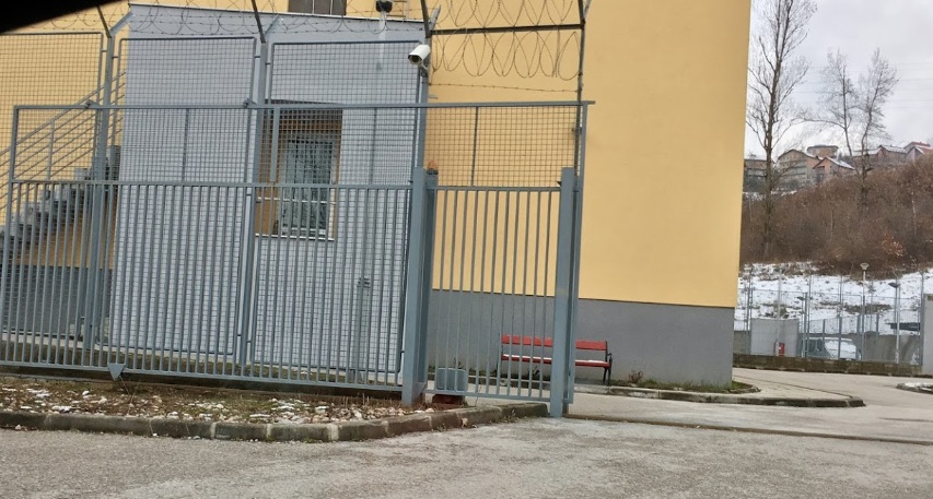 Sarajevo Immigration Detention Centre (Google Maps, March 2019, https-//preview.tinyurl.com/wrqevee)